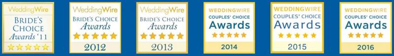 Christopher Rude Wedding Wire Couples Choice Award Winner