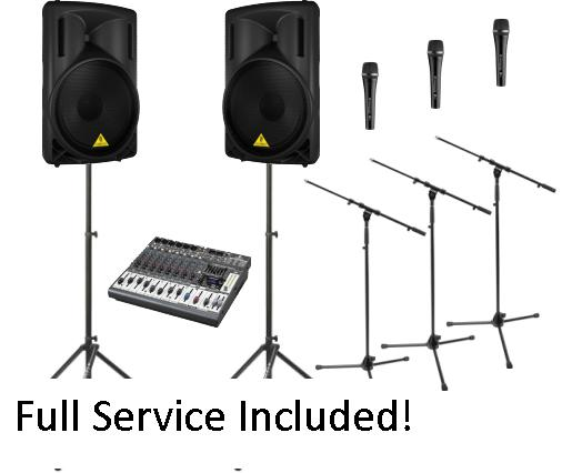 Ceremony Sound Reinforcement Service